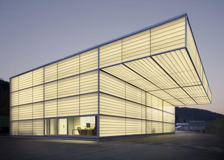 35 best images about archi facade polycarbonate on pinterest beijing republic of ireland - Architektur siegen ...