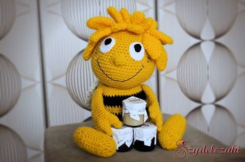 Pszczółka Maja/ Maya The Bee Crochet