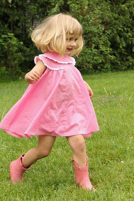 Bubblegum Dress by madebyrae, via FlickrKids Stuff, Bubblegum Girls, Dresses Vintage, Little Girls Dresses Pattern, Sewing Dresses Inspiration1, Vintage Pattern, Bubblegum Dresses, Vintage Little Girls Dresses, Girls Sewing