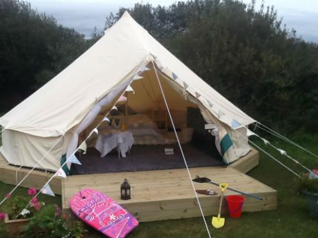 Little Trethvas in Glamping in Cornwall