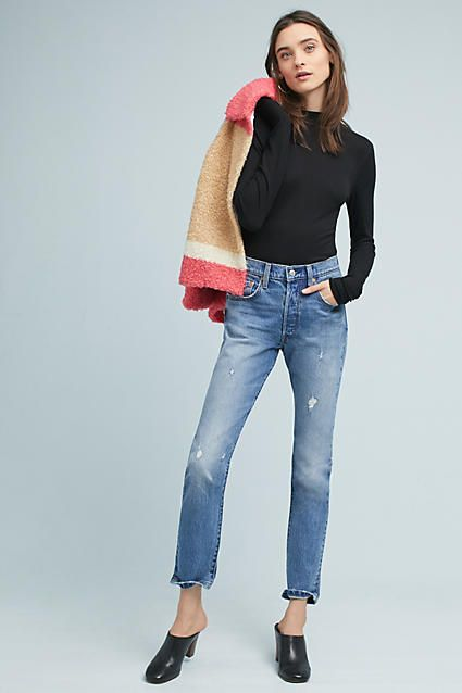 #affiliatead -- Levi's 501 High-Rise Skinny Jeans -- #Chic Only #Glamour Always