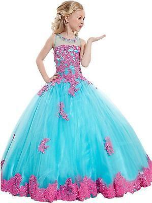 Pinkes prinzessin kleid