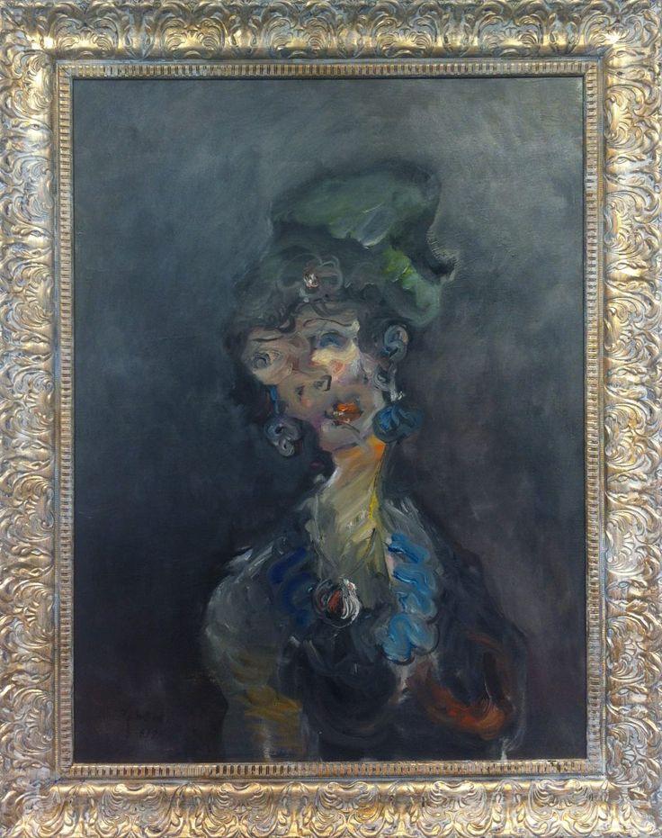 #IranianPainters Agitation By HosseinAli Zabehi 2017 Style: Expressionism Genre: Portrait Dimensions: 80*60cm Location: Painting Exhibition, Hoor Art Gallery, Tehran, Iran CopyRight: Fair Use اضطراب از حسينعلي ذابحي ١٣٩٦ سبك: هيجان نمايي ژانر: پرتره اندازه اثر: ٦٠*٨٠ سانتيمتر محل نگهداري اثر: نمايشگاه نقاشي، نگارخانه هور، تهران، ايران حق تكثير: استفاده منصفانه
