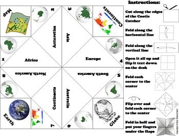 Seven Continents Activity (Geography Unit)