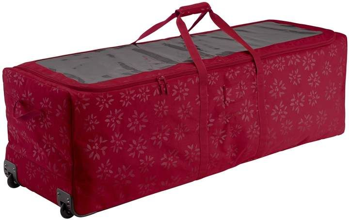 Christmas Tree Rolling Storage Bag.Classic Accessories Seasons Artificial Christmas Tree