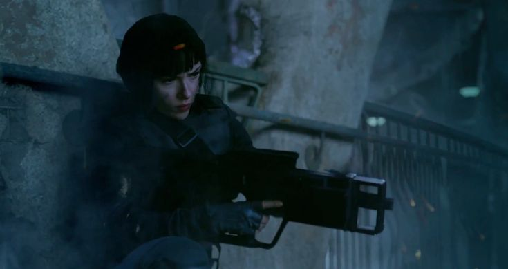 Ghost In The Shell: Major's tactical uniform