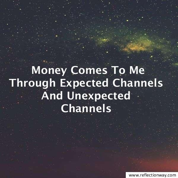 Money Flows In My Life Effortlessly And Frequently…