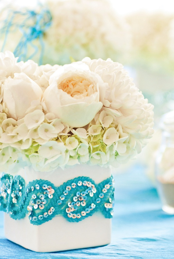Under the Sea party centerpieces #quinceanera #sweet16