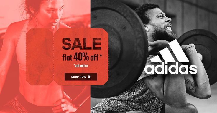 @adidas offers flat 40% #discount!  #offer #coupons #deals #offers #sportswear