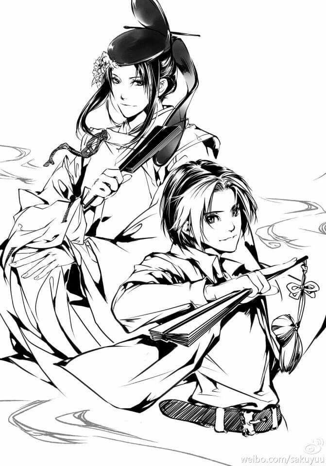 Hikaru no Go fan art. From weibo