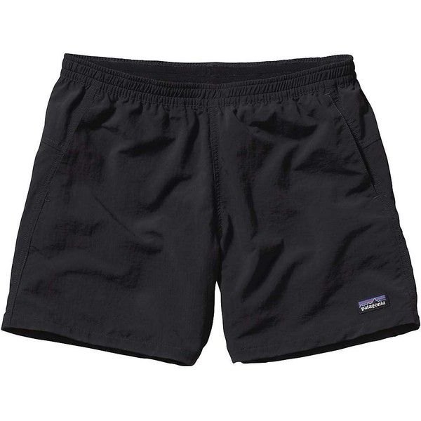 Patagonia Women's Baggies Short ($49) ❤ liked on Polyvore featuring activewear, activewear shorts, shorts, black, pajamas, patagonia and patagonia sportswear