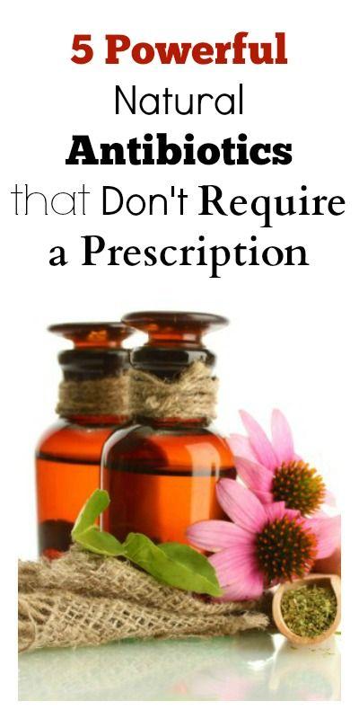 5 Powerful Natural Antibiotics that Don't Require a Prescription