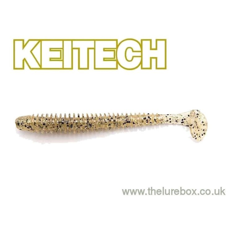 """Keitech Swing Impact 3"""" Silver Shad"""