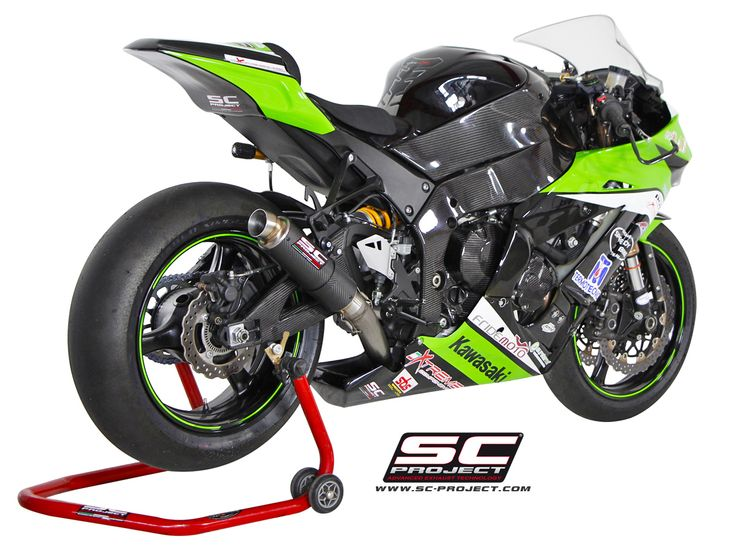 KAWASAKI ZX-10R '11-15 EXHAUST BY SC-PROJECT