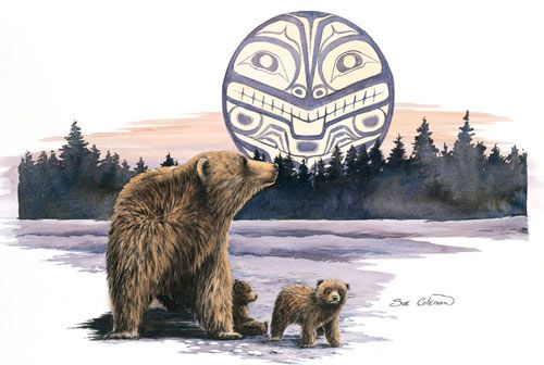 Bear and Cub- Sue Coleman