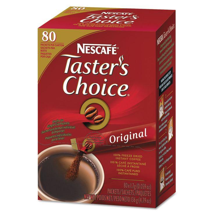 Taster's Choice Stick Pack, Premium Choice, 80/box