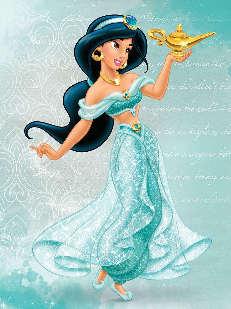 Принцесса жасмин картинка