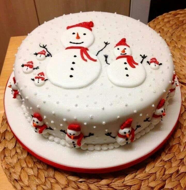 Sneeuw taart.