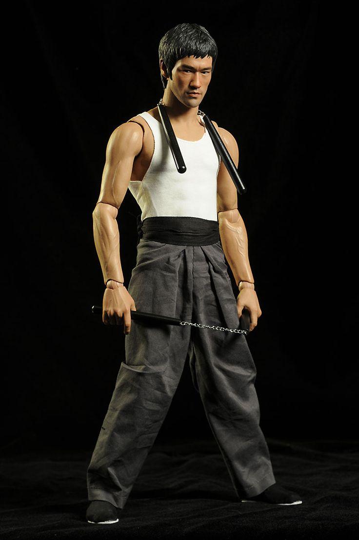 Bruce Lee Masterpiece HD figure by Enterbay