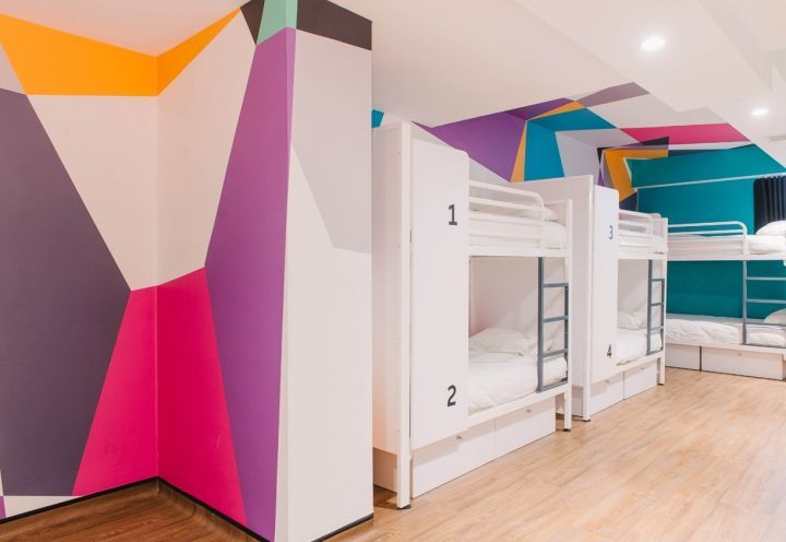 42 best mur graphique en peinture images on pinterest. Black Bedroom Furniture Sets. Home Design Ideas