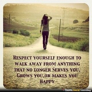 : Life, Respectyourself, Respect Yourself, Walks Away, Truths, So True, Favorite Quotes, Living, Inspiration Quotes