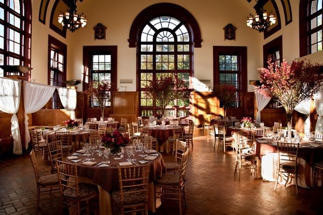Beautiful ballroom at Celebrate at Snug Harbor in Staten Island, NY