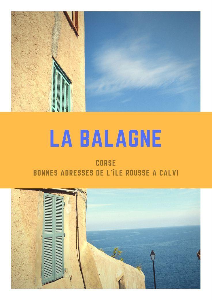 Mes bonnes adresses en Corse : hôtels et restaurants sur Bastia, l'Île Rousse et Pigna, pâtisserie Chez Mireille. Préparez votre séjour !