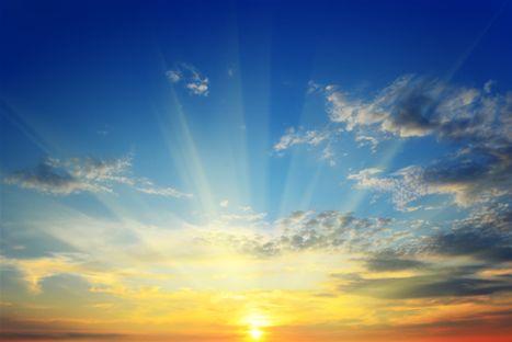 Änglar kommer med sol och budskap - Nära