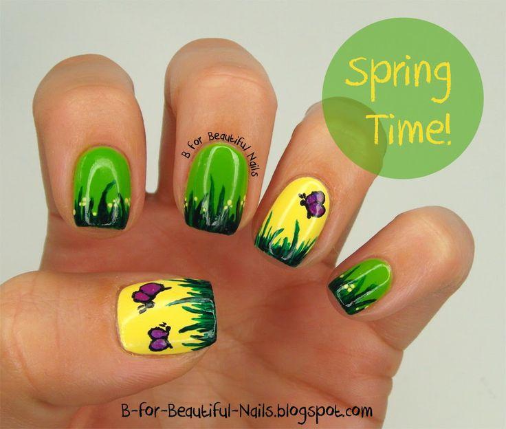 B for Beautiful Nails #nail #nails #nailart