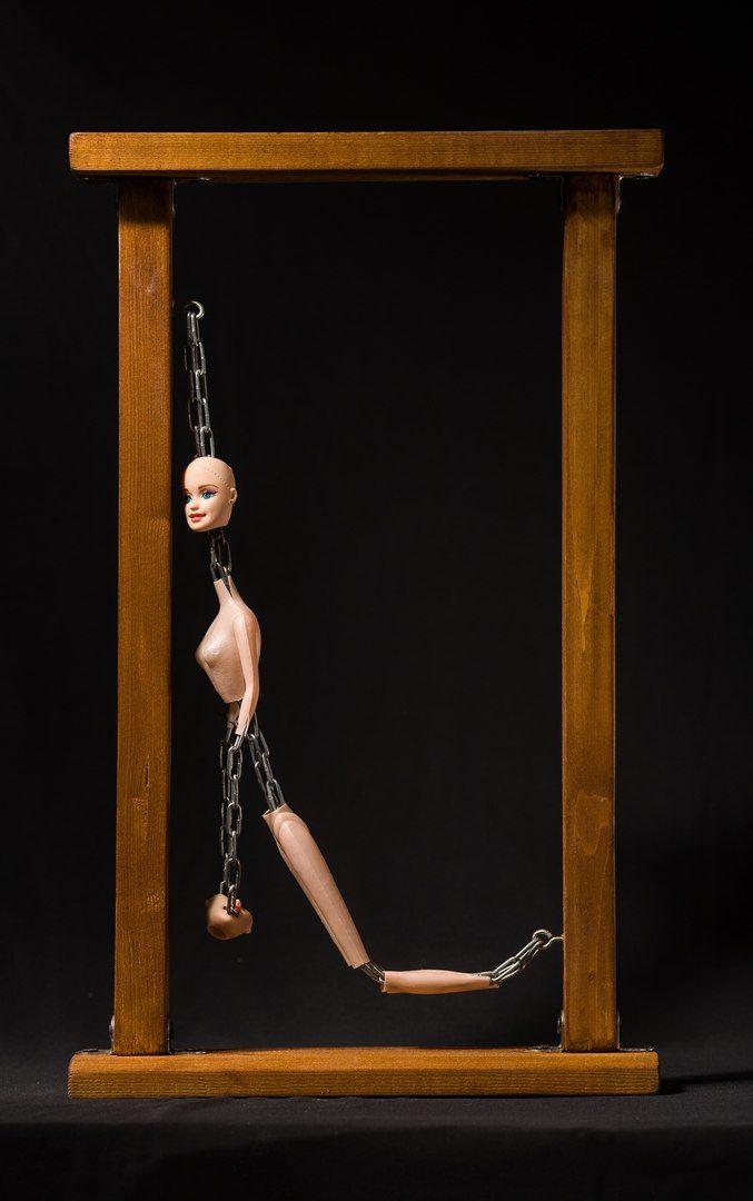 """""""Сожаление"""" #хоррор #куклы #ужас #ручная работа #боль #страх #фетиш #зло #жестокость #жуть #кошмар #арт"""