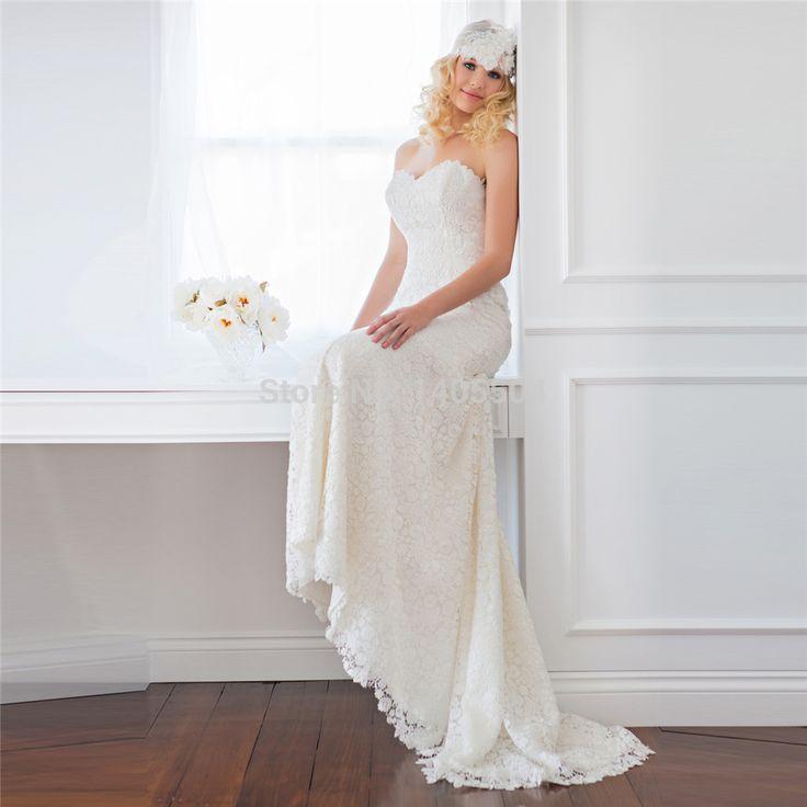 Fold Applique Flower style Tulle Vestido de noiva Longo pleats Beads Wedding Dress 2015 New Arrival Lace Vestidos Bridal Gowns
