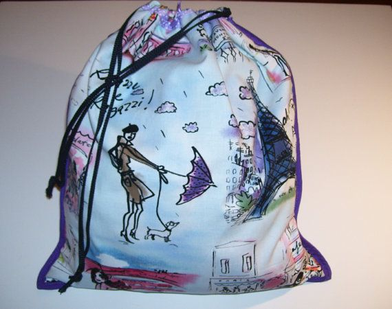 LOVELY CARRYING BAGS  living paris city pattern design .