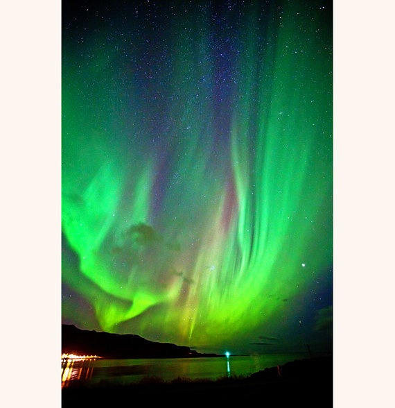 Aurora Borealis Northern Lights Iceland