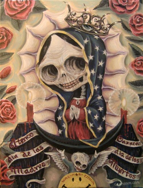 Día de los muertos ~ art from Oaxaca, Mexico: