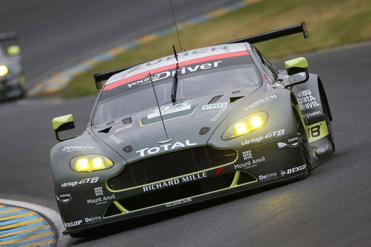 Aston Martin Racing - Aston Martin Vantage - 24h Le Mans Vortest - 2016