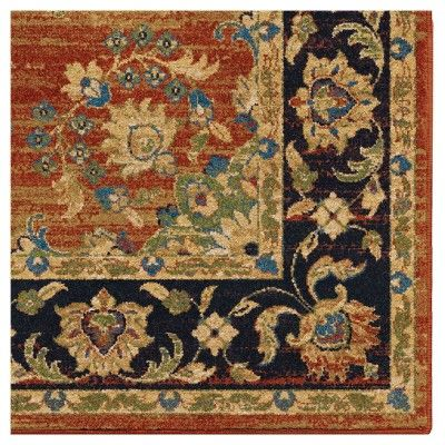 Brick Abstract Woven Area Rug 5 3 Quot X7 6 Quot Orian Size
