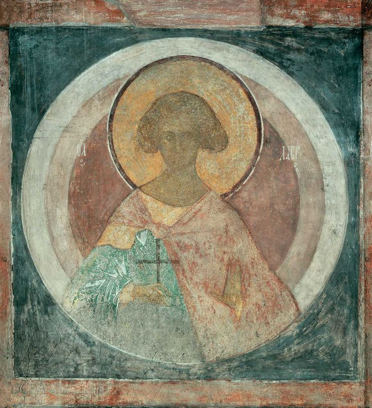 The Last Judgement: Символы четырех царств, 1408 by Andrei Rublev. Byzantine. religious painting. Assumption Cathedral, Vladimir, Russia