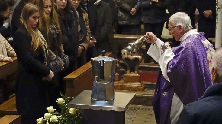 Renato Bialetti, the Italian businessman who turned an aluminum coffee pot into a classic global design, died last week at the age of 93. In accordance with his and his family's wishes, his ashes were interred in an urn shaped like a large version of a Moka pot, the stovetop coffee maker he introduced to the world.