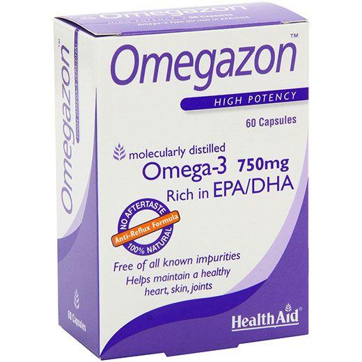 HealthAid Omegazon Omega-3 750mg (60caps)
