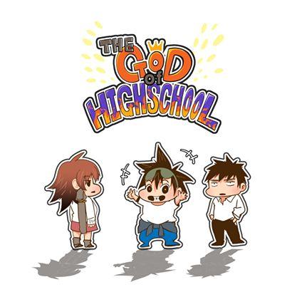 i got these cute miniature images of Mira Yoo, Mori Jin and Daewi Han from line webtoon official facebook! so cutttteee <3 #thegodofhighschool #webtoon #webtoons #line m.webtoons.com