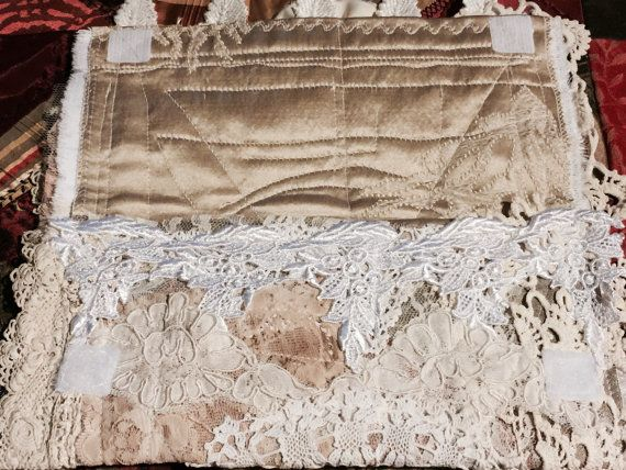 Shabby Chic Clutch purse Brides clutch wedding by MyIrishGypsy
