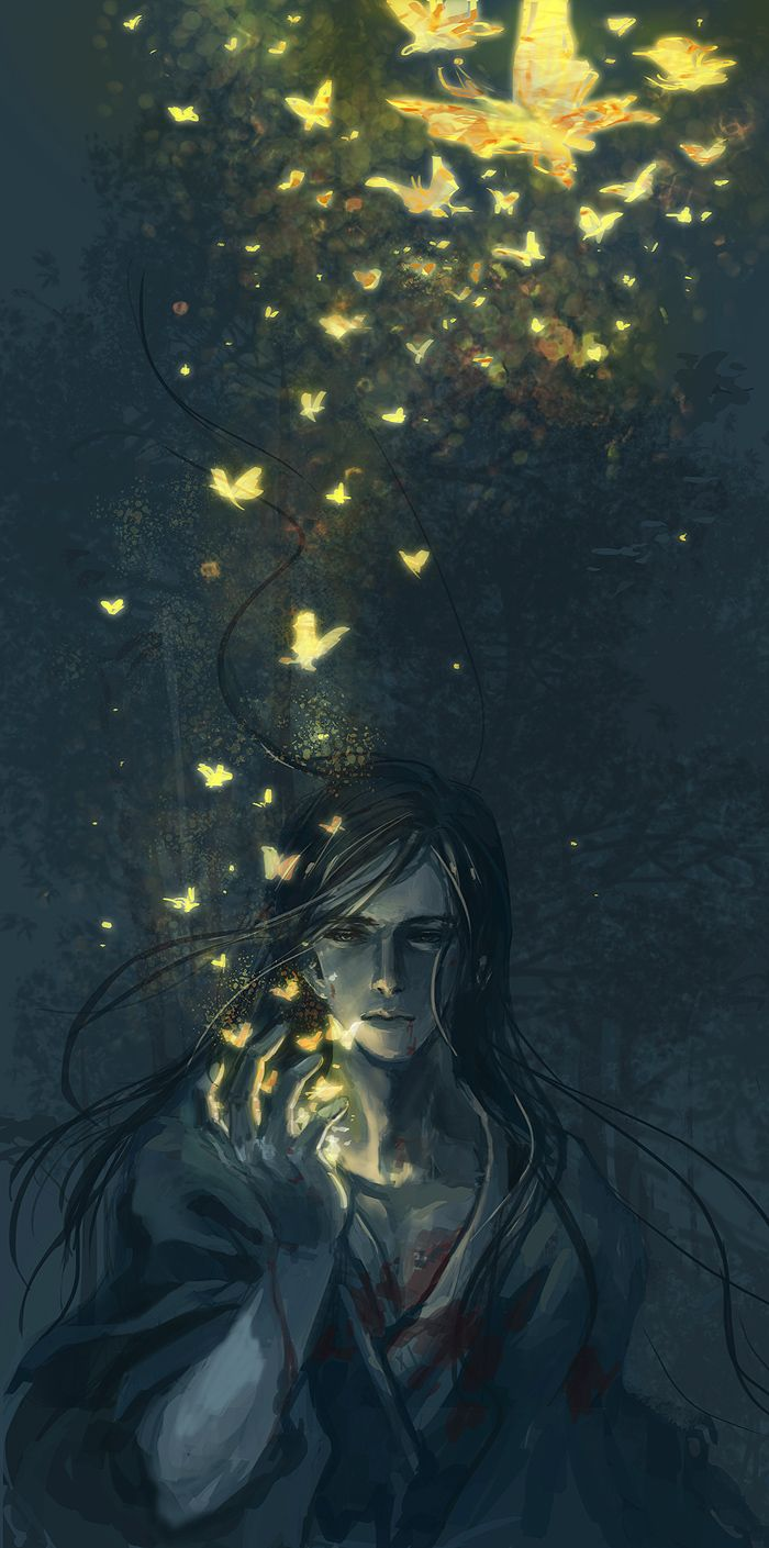 As borboletas são sonhos, estão se indo, o que ele se tornará?