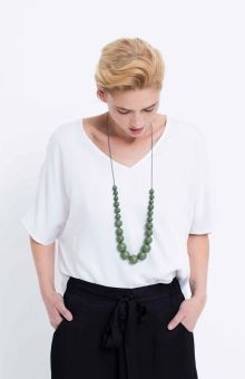 Elk Accessories Simple Bead Necklace