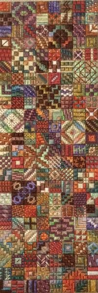 Tidbits, Needle Delights Originals Counted Needlepoint Designs from Kathy Rees