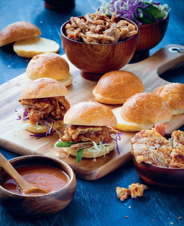 Pulled pork slider by Ben O'Donoghue from Ben's BBQ Bible | Cooked