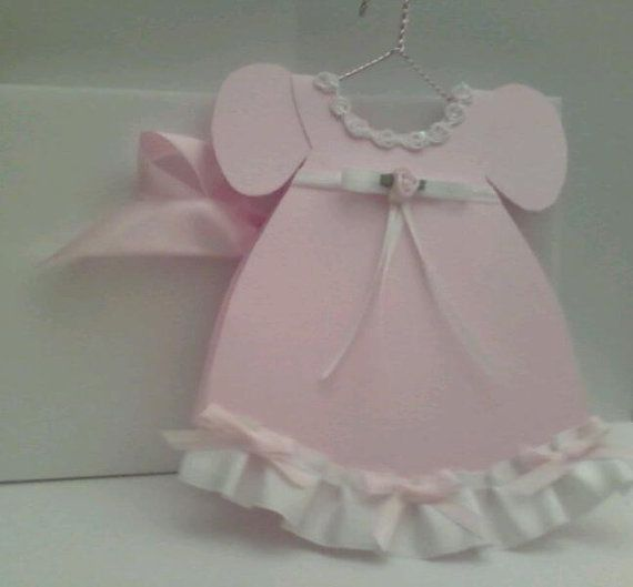 Baby Girl Dress Card Qty 45 by craftingsaavy on Etsy