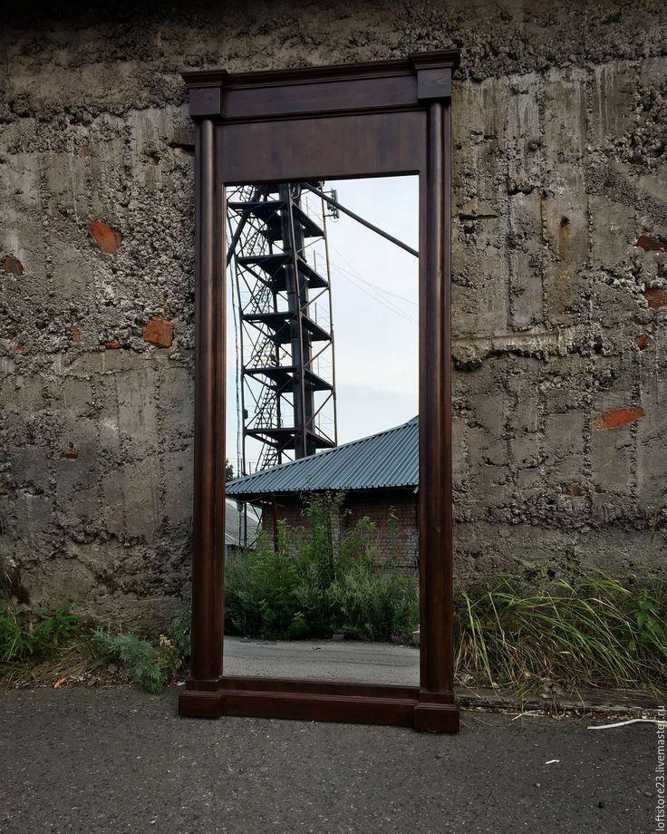 Купить Зеркало EMPIRE. - коричневый, зеркало во весь рост, зеркало, зеркало настенное, зеркало напольное