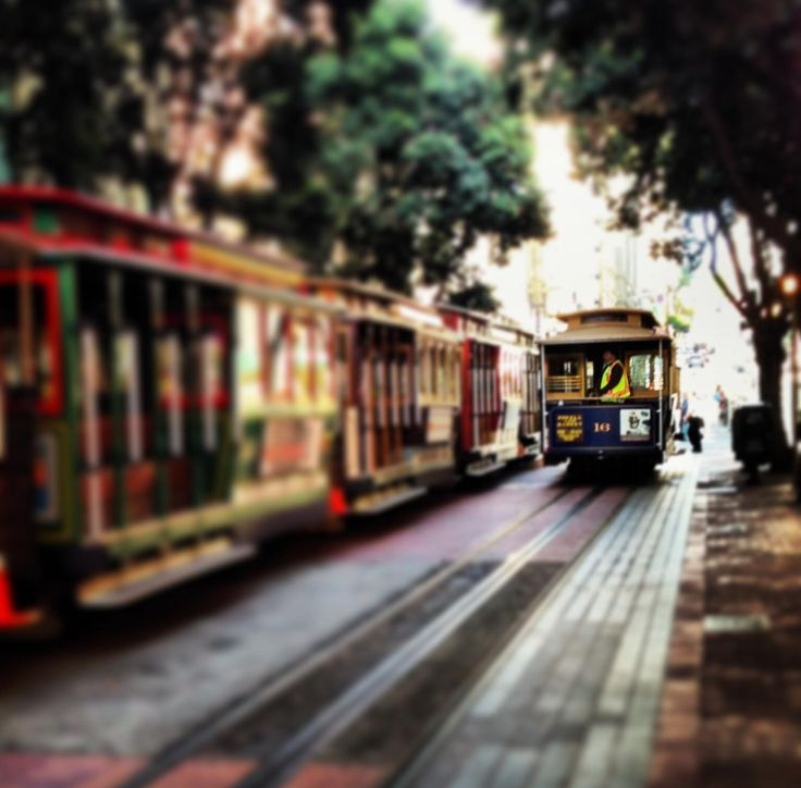 Powell St Cable Car -SF