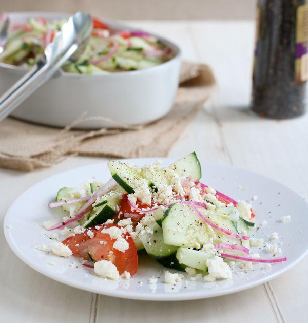 cucumber salad..yum!