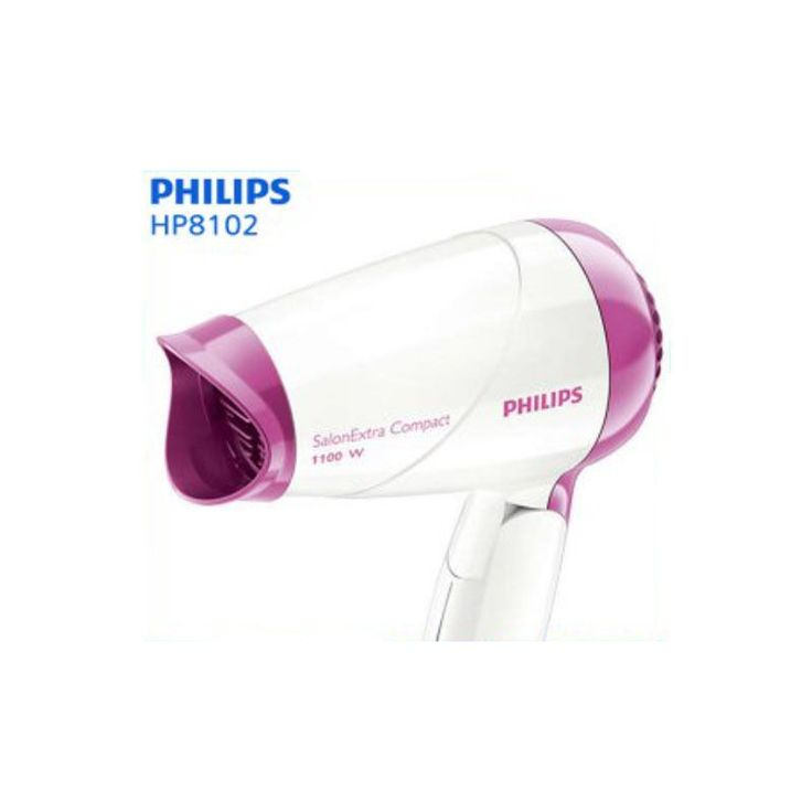 Philips Salon Extra Compact Easy Care Hair Dryer HP8102/00 1100W 220V #Philips